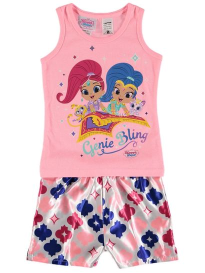 Girls Licence Pyjamas - Shimmer And Shine