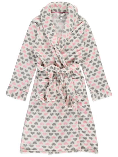 Coral Fleece Dressing Gown Womens Sleep