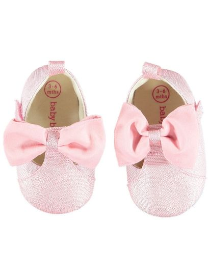 Baby Girl Bow T-Bar Shoe