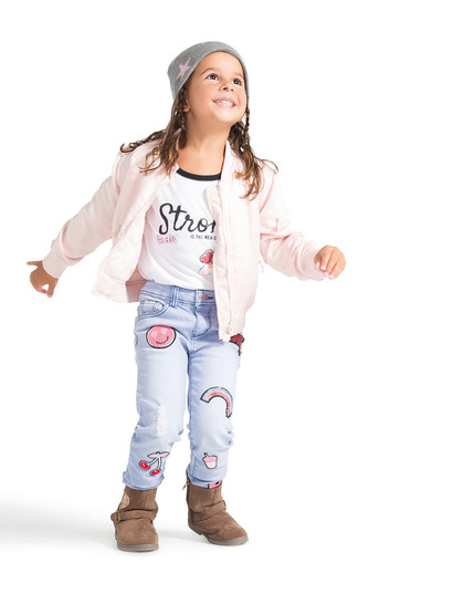 Todddler Girls Bomber Jacket