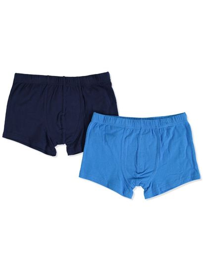 BOYS PLAIN TRUNK 2 PACK