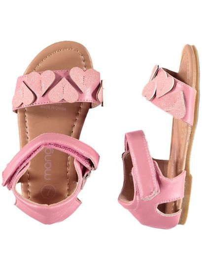 Toddler Girl Heart Sandal