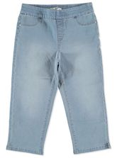 PULL ON DENIM CROPPED JEAN WOMENS