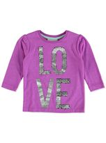 TODDLER GIRLS FRONT PRINT TEE