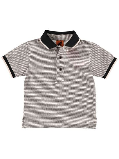 Boys Jacquard Polo
