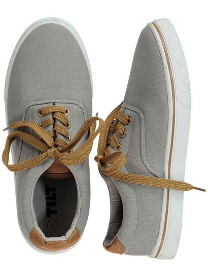 BOY LACE UP CANVAS