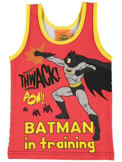 Boys Licence Vest - Batman