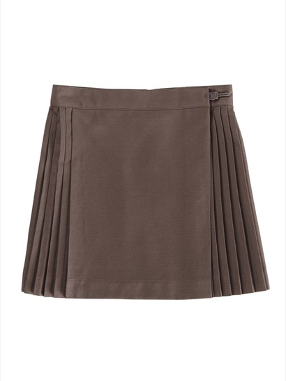BROWN GIRLS NETBALL SKIRT