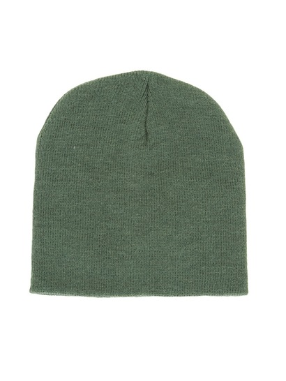 BOTTLE GREEN KIDS BEANIE