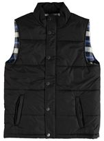 MENS FLANNEL LINED PUFFER VEST