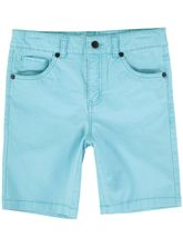Boys Coloured Denim Short