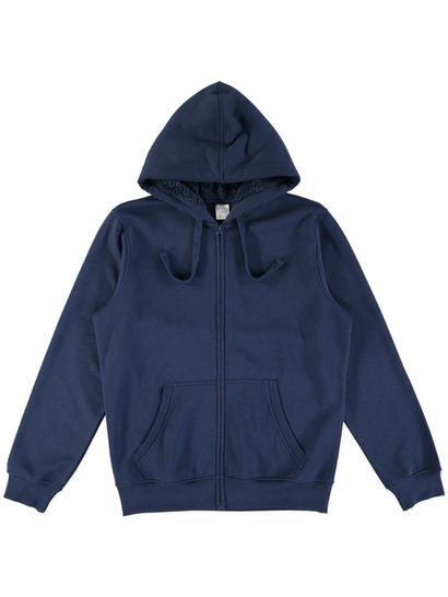 Mens Iconic Sherpa Hood Fleece