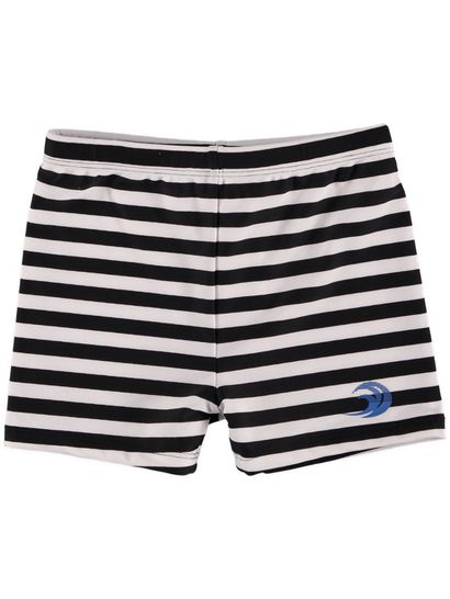 Boys Stripe Swim Trunk