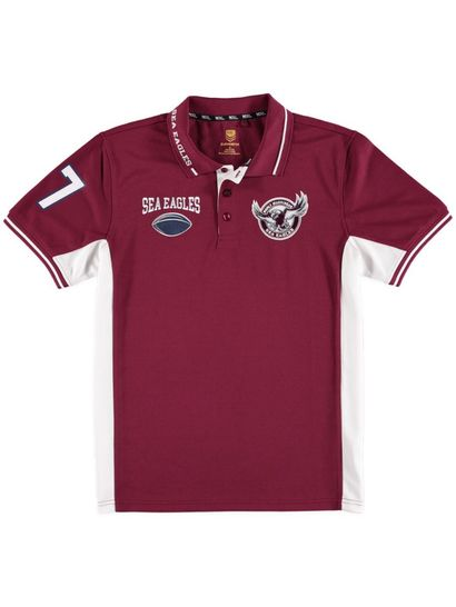 Mens Nrl Mesh Polo