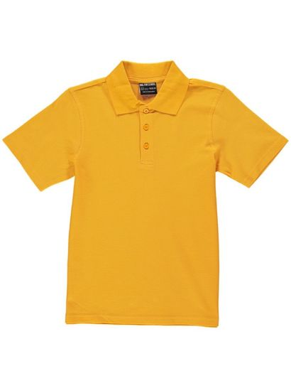 GOLD KIDS TEFLON PROTECTED COTTON POLO