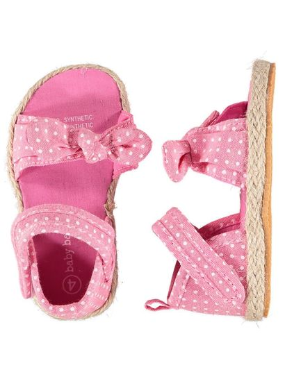 Baby Girl Pink Espadrille