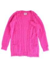 GIRLS PLAIN KNIT CARDIGAN