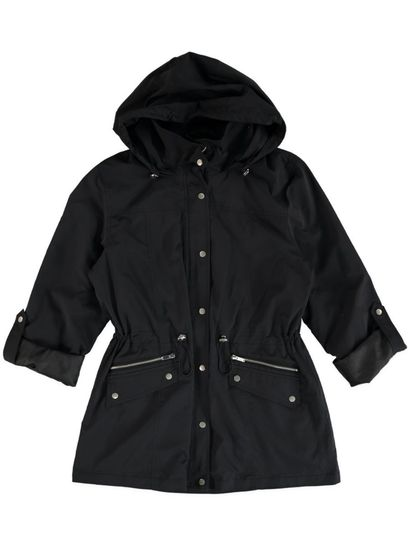 Womens Zip Trim Anorak Plus