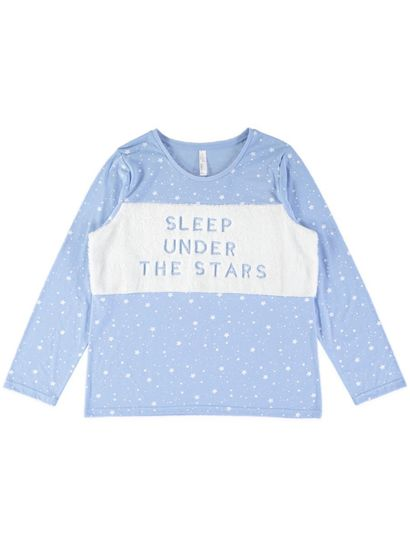 Jersey Top With Applique Womens Sleepwear