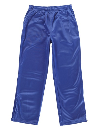 ROYAL BLUE KIDS TRICOT TRACKPANTS