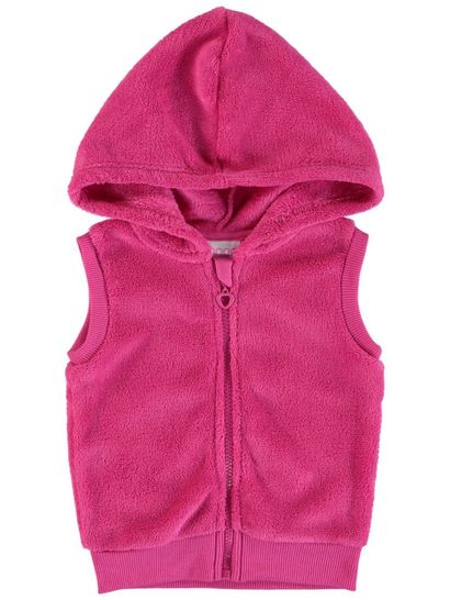 Toddler Girls Coral Fleece Sweat