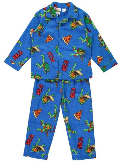 Boys Teenage Mutant Ninja Turtles Flannel Pyjamas