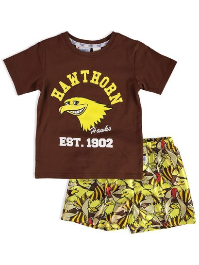 TODDLER KNIT SATIN PJ AFL