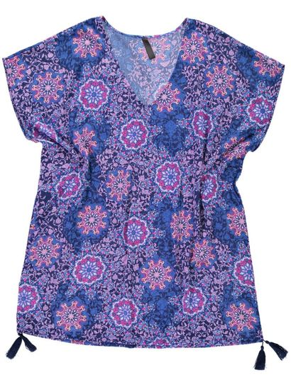 Womans Printed Kaftan