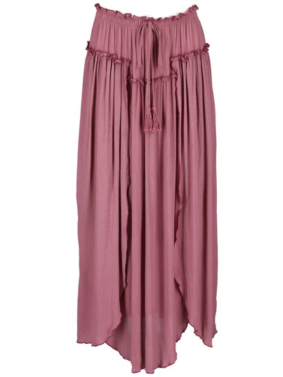 Miss Mango Layer Maxi Skirt