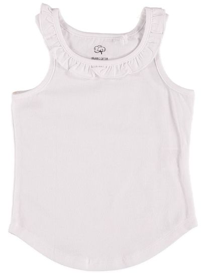 GIRLS ORGANIC COTTON SHORT SLEEVE TEE