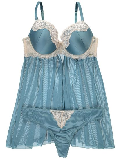 Full Figure Satin Chemise