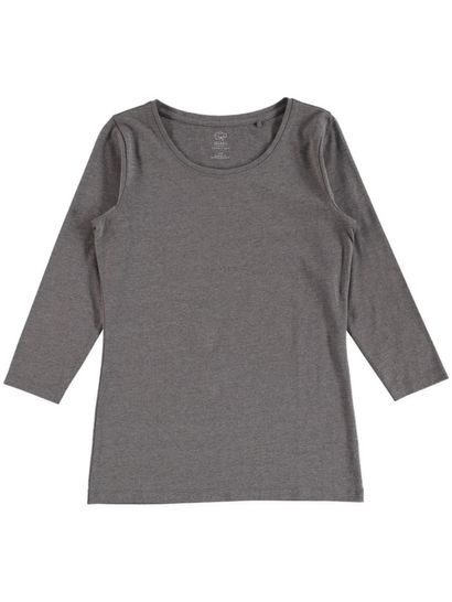 WOMENS ORGANIC COTTON BLEND 3/4 SLEEVE TEE