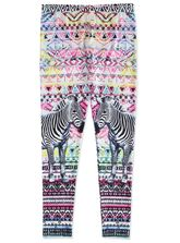 GIRLS LONG PRINT LEGGING