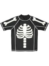 BOYS SKELETON RASHVEST