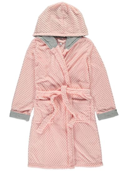 Coral Fleece Hooded Gown Womens Sleepwear