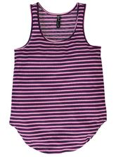 PLUS YARN-DYE STRIPE TANK WOMENS