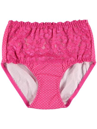 Full Brief Lace Front Womens