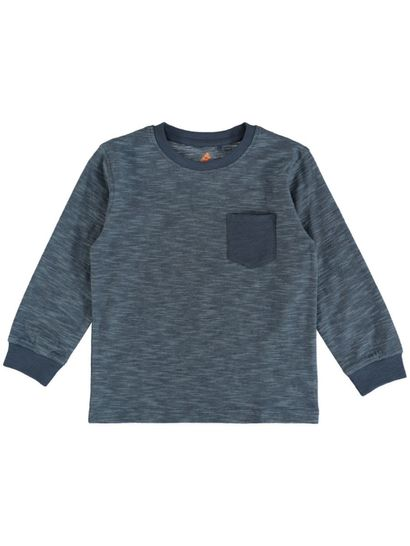 Boys Ls Stripe Tee