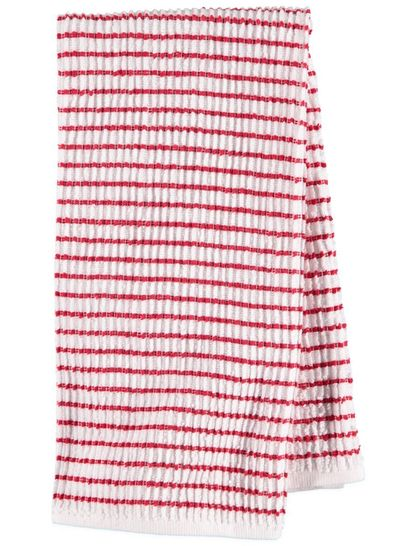 Textured Stripe Popcorn Tea Towels