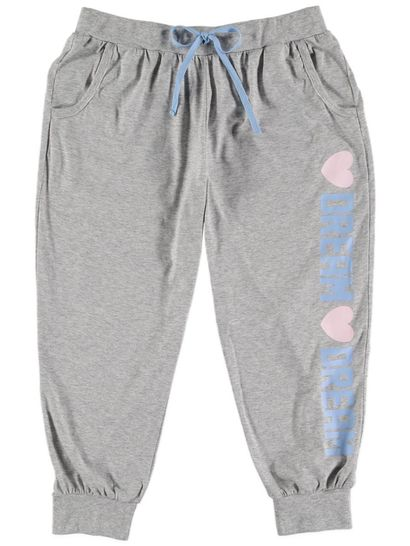 Cropped Jogger Pant Womens Sleepwear