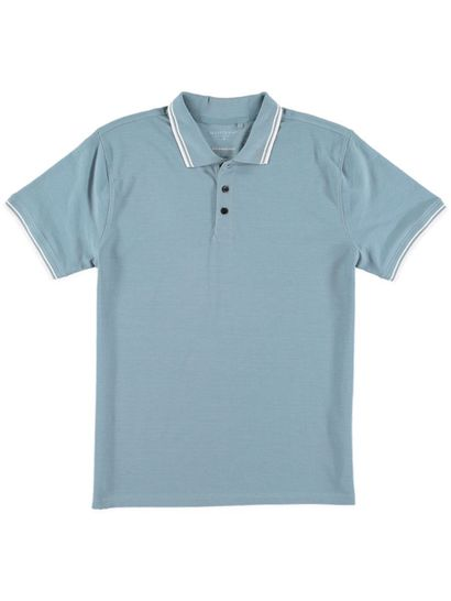 Mens Marle Polo With Tipping