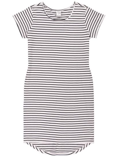 Womens High Low T-Shirt Dress