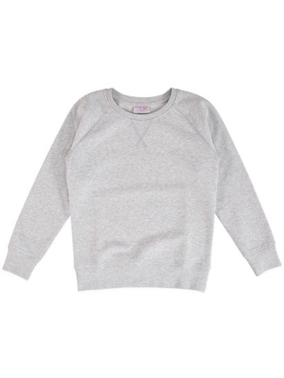 Girls Basic Fleece Sweat