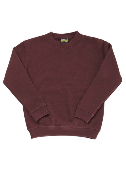 MAROON KIDS FLEECE SLOPPY JOE