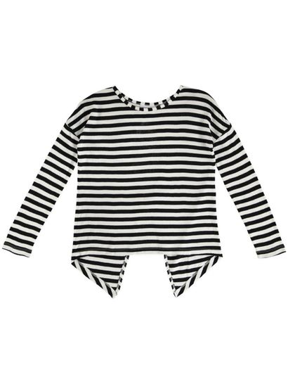Girls Long Sleeve Stripe Top