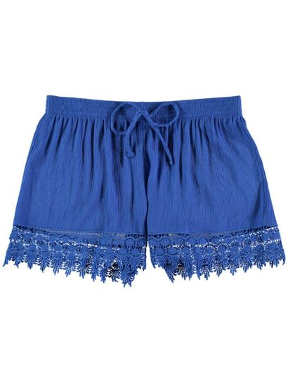 Womens Lace Trim Short