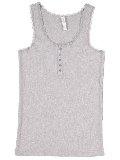Rib Sleep Tank Womens Sleepwear