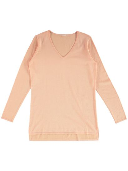 Plus Vneck Knit Pullover Womens