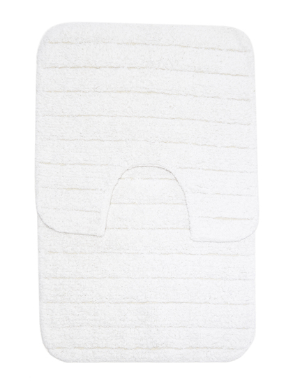 TWO PIECE BATH MAT SET - SQUARE