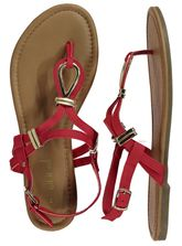 Womens Red Sandal